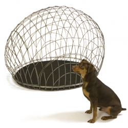 The Dog Cage. A great design to replace the usual, ugly crate. Designed by Peter F. Pracilio for Design GO!