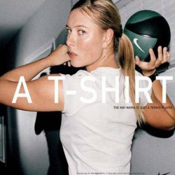 "New ""Just a t-shirt"" Nike ad campaign - Just a T-Shirt shot by Terry Richardson!"