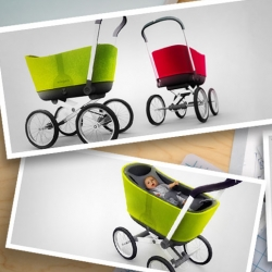 Only thing more beautiful than a great design ~ is a great concept and story behind it. Take a look at the video with Worrell designer Dan Clements about his new Wiegen stroller.