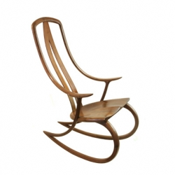 Essenze - new zealand inspired design - has a gorgeous signature rocking chair by david haig