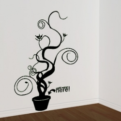 Love this wall sticker from A Better Tomorrow