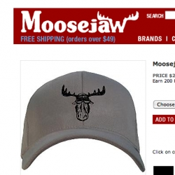 MOOSEJAW! fun logo, cool hat - looks like a great online outdoors store, i only just found.