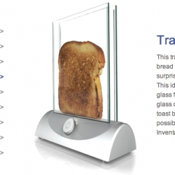 transparent toaster!