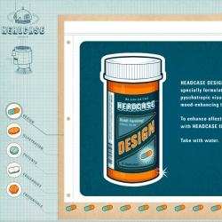 Great website - fun graphics... not to mention they are called HEADCASE design.