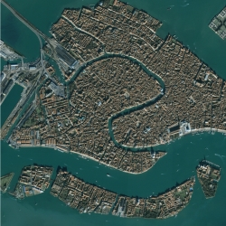 Oh Venice. So gorgeous - other great aerial photos to blow your mind here.