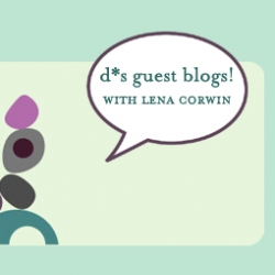 Design*Sponge launches her GUEST BLOG - with fun designers taking 2 week turns to share their passion for design with readers - worth checking out, first up is Lena Corwin