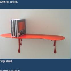 Drip Shelf! by Susan Bradley