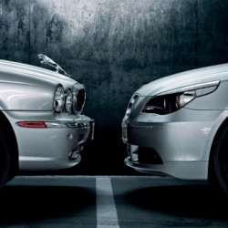 BMW showing off its prowess in a new ad... run jaguar run?
