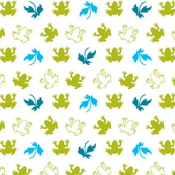 St. Francis has a gorgeous website  ~ very fun connect the dots motif ~ and loving their frog pattern for Think Glam.