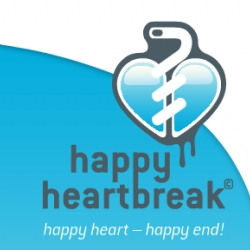 happy heartbreak is a new medicine for broken hearts.  no feelings after 5 seconds! your memory will be erased after 10 seconds! happy heart - happy end! [Editor's Note: great commercial]