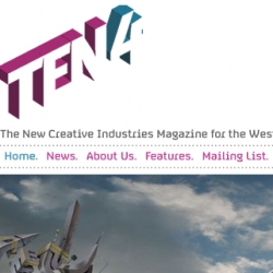 TEN4 - a new west midlands creative mag - its apparently free and quarterly - RUGENIUS GET ME ONE. please.