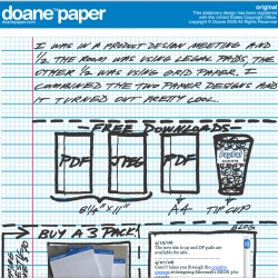 Doane Paper - lines+grid = pdfs you can print - that ironically enough are now available pre printed.