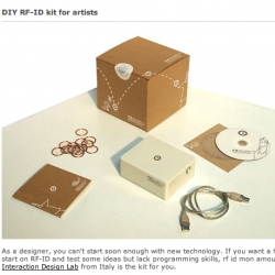 DIY RFID kit for artists from Italy
