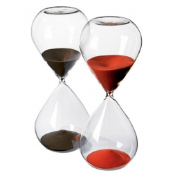 nice hourglasses over at CB2