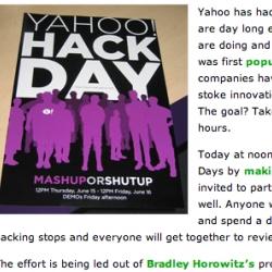 thats a pretty sweet poster - for a very fun idea. MASH UP or SHUT UP. YAHOOOOOOOOOO!  (its a silly friday.)