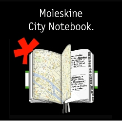 Wow! The famous little notebook has done it again with a brilliant mashup. Notebook + Maps = DIY City Guide. I want all of them.