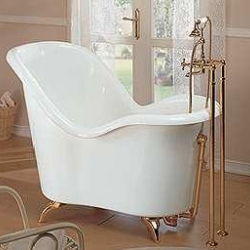 Love this bathtub - think i can use a laptop on a rack and work while in that?