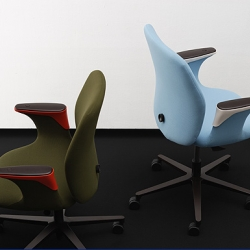 "Ronan & Erwan Bouroullec have designed the newest ""office chair"", the Worknest for Vitra. Read all about it here. Available as of summer 2007."