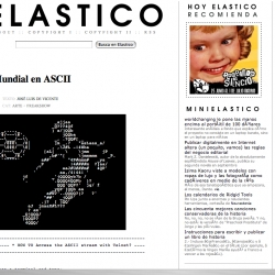 ELASTICO - your redesign rocks. although i liked your old page too.