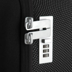 Love the way these zippers lock on the Samsonite Black Label rollers by Marc Newson