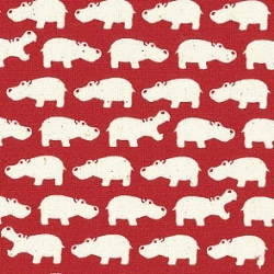 HIPPOS! fabric over at reprodepot (love saying that outloud)