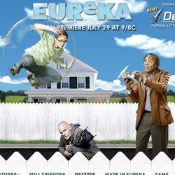 Eureka! The Sci-Fi channel original series with the best designer concept gadgets is back on July 29!