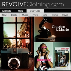 "SO excited that Revolve Clothing has added a ""Culture"" section to our favorite online fashion stop... its like they added the NOTCOT to their NotCouture!"