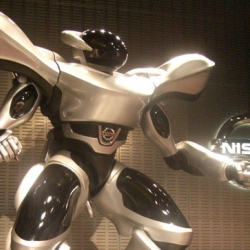 This mech-inspired Powered Suit from Nissan mixes their new Dualis with your anime dreams...