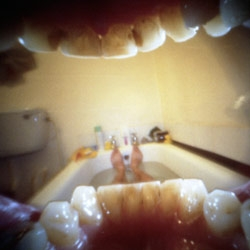 Pinhole camera in your mouth ~ its a crazy perspective... by Justin Quinnell