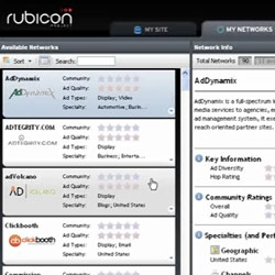 Rubicon Project ~ interesting new player in the online advertising realm... check out the demo about how they can help you aggregate and optimize between ad networks ~ beta started today.