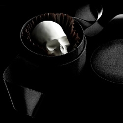 We love all things D.L. & Co. especially these new Mori Ex Cacao skulls that are just divine. In flavors like Curious Chili, Scorched Caramel, and Bitter White Brandied Cherry how can we resist?