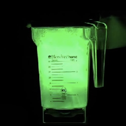 Blender 12 hr Lantern! What happens when you throw a pile of glow sticks in a blender... fun video (and yes, i'm on a little catch up burst of 'will it blend', all done now)