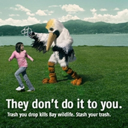 Save SF Bay - New ad campaign for SF environmental non-profit is dark and humorous.