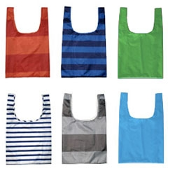 On reusable bag updates, the best alternative to standard plastic bags (vs going the Tote Bag route) is still Baggu Bags... loving the fresh new colors and stripes available now! (also the most gender neutral)