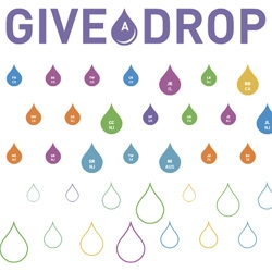 Give A Drop ~ gorgeous site and concept for this Virgin Unite and Jewel project to bring drinkable water to millions who don't have any...