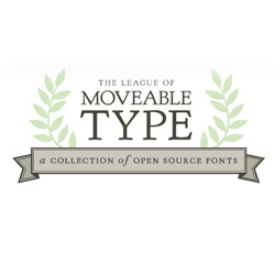 The League of Moveable Type is a collection of well-made, free & open-source, @font-face ready fonts, with the desire of making the design community an open and sharing place. Feel free to visit them or join them to collaborate.