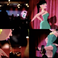 """Oh My God"" Video ~ lily allen gets all jessica rabbit [Editor's Note: Awwwww sony pulled it off youtube]"