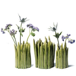 Normann Copenhagen's 'Grass' is designed for the ordinary flowers we often overlook in our daily lives. All the vases are handmade, and have their own unique character.