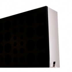 Wall of Sound by Swedish brand Brothers' is the most massive iPod speaker system with 28 elements and measuring 3ft by 4ft.