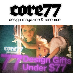 And.... here's the link to this years awesome Core77's 77 gifts under $77 gift guide! Some very fun stuff, most familiar, some hilarious... now i want 30 lbs of dum dum pops for $54