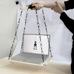 Marionette Mac - most artistic use of the internal accelerometer i've seen yet