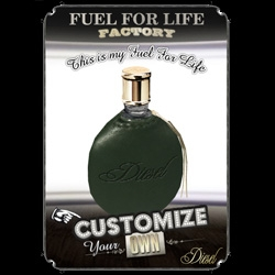 EXCLUSIVE! We're excited to show you some sneak peaks of the new Diesel Fuel For Life Factory where starting monday you can customize your own bottles of the new fragrance.