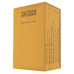 Louis Vuitton's City Guides - the series come out every year, yet no one seems to have pictures of the interior... do you have a set? What do you think of it?