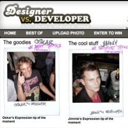 Designer vs. Developer - it's LIKE Hot or Not....