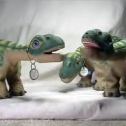 As the pleo hype grows ~ Pleo Wassup Video on YouTube pops up
