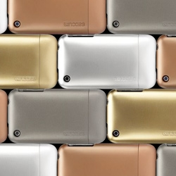 Incase slider cases in metallics ~ right on trend, and oh so tempting (change them with each outfit?)