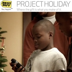 Best Buy has nailed it with this video ~ Gifting is about the unboxing and experience of gifts ~ not just what you get! I LOVE this idea of giving someone a GPS and then having them use it to find the rest!!!
