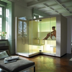 "Inipi Compact Sauna for your bathroom. Six words: ""Wow"" and ""Where can I get one?"""