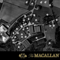 It's fun to explore the Macallan Distillery grounds and see all the beautiful photographs of Rankin.