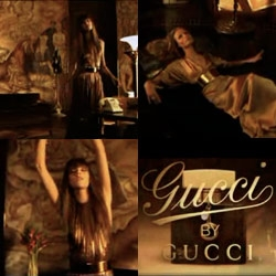 David Lynch returns to commercials, directing the new ad for Gucci by Gucci. It almost verges on self-parody, but it's worth a look. (Also check out the making of!)